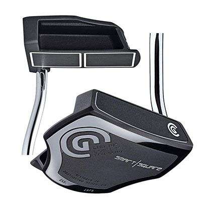 Best Putters for Beginners Cleveland Golf Men's Smart Square Heel Shafted Mallet Putter