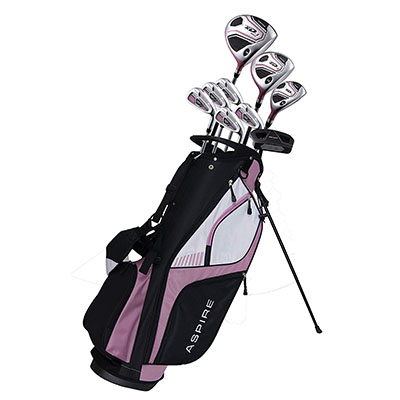 Best Women's Golf Clubs for Beginners Aspire XD1 Ladies Womens Complete Right Handed Golf Clubs Set